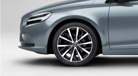 "V40 ""Narvi"" 7.5 x 18"" wheel & tyre x4 package"
